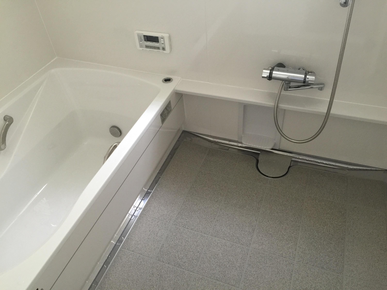 早島町リフォーム工事 浴室の完成写真