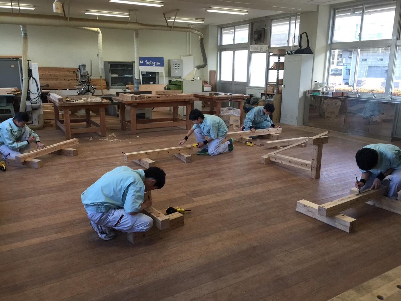 水島工業高校での講演の写真②