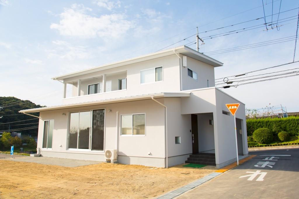 早島町新築工事 外観の写真