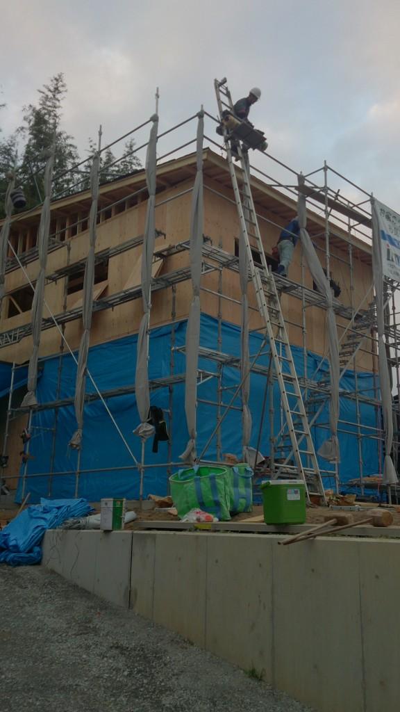 早島町新築工事の写真②