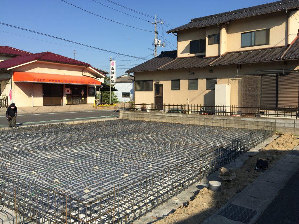 早島町店舗工事 基礎工事の写真②