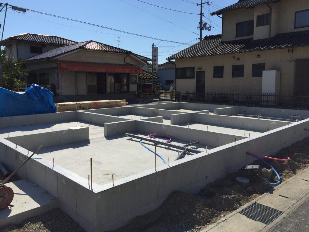 早島町店舗工事 基礎工事の写真④