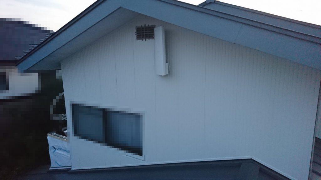 早島町リフォーム工事 外壁②