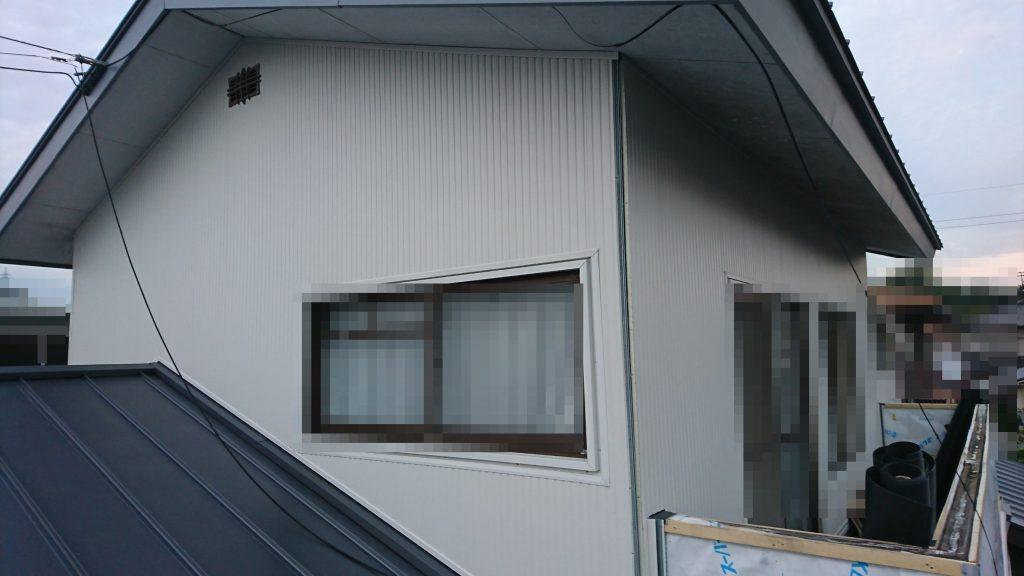 早島町リフォーム工事 外壁③