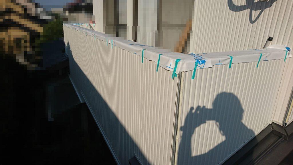 早島町リフォーム工事 外壁④