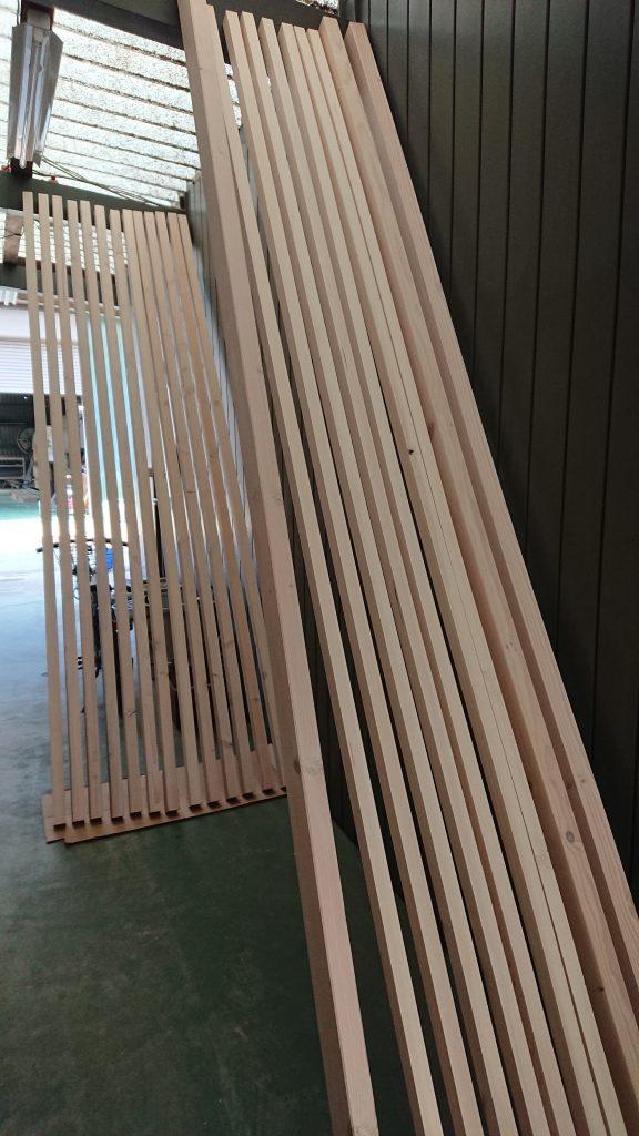 木材塗装①
