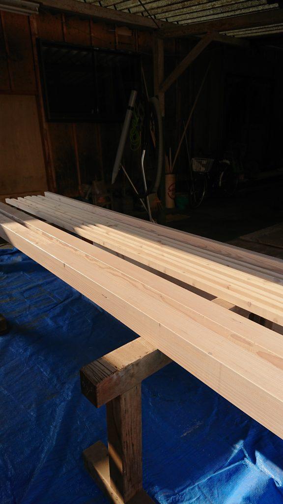 木材塗装②