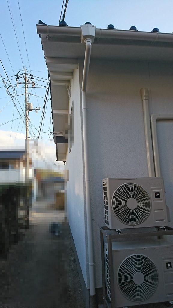 大規模リフォーム工事 雨樋③